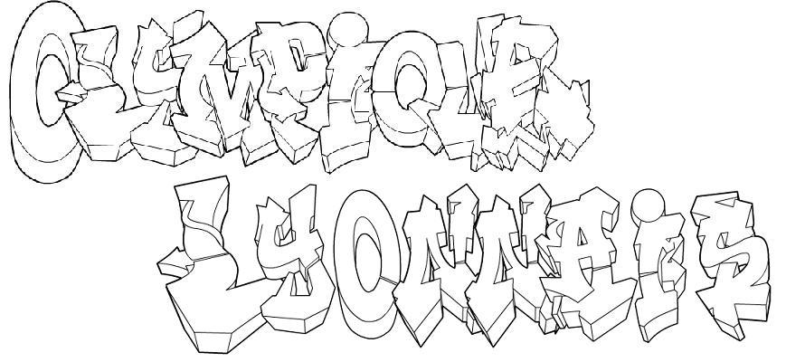 Tag colorier pr nom phrase - Coloriage lyon ...