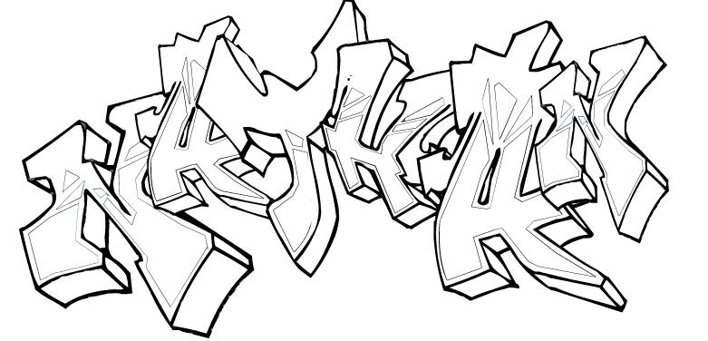 Tag 9 - Graffiti prenom gratuit ...