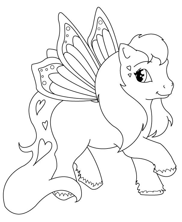 coloriage mon petit poney gratuit a imprimer