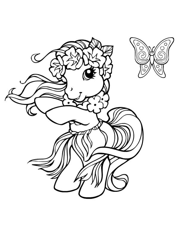 Coloriage mon petit poney gratuit a imprimer - My little pony gratuit ...