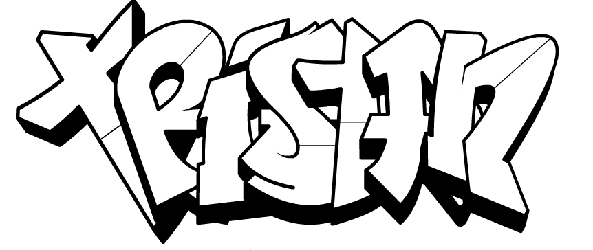 Swag Graffiti Coloring Pages Coloring